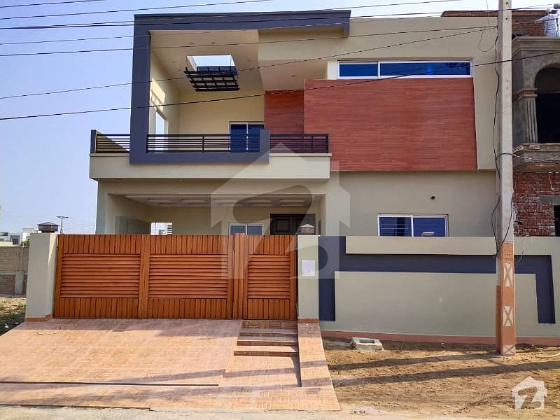 A Nicely Build 10 Marla Brand New Double Story Luxury House Is Available For Sale