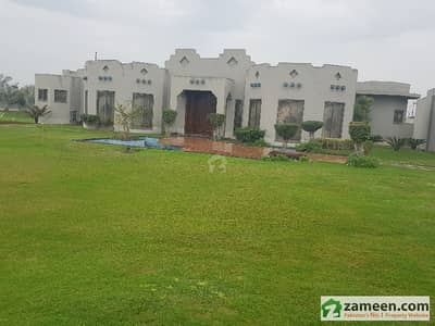 8 Kanal Farm House Available For Sale On Mid Land Bedian Road