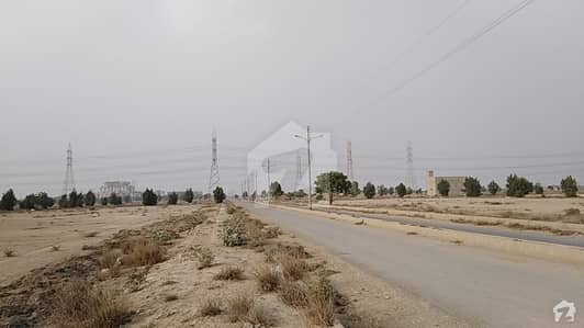 120 Sq Yards Map Approved Leased Plot At Saadi Town Block 7 - 40 Feet Road