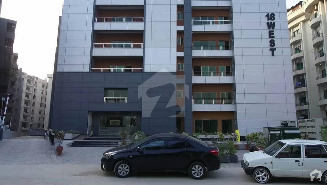 18 ویسٹ ریزیڈنشیا ایف ۔ 11/1 ایف ۔ 11 اسلام آباد میں 2 کمروں کا 8 مرلہ فلیٹ 1.85 کروڑ میں برائے فروخت۔