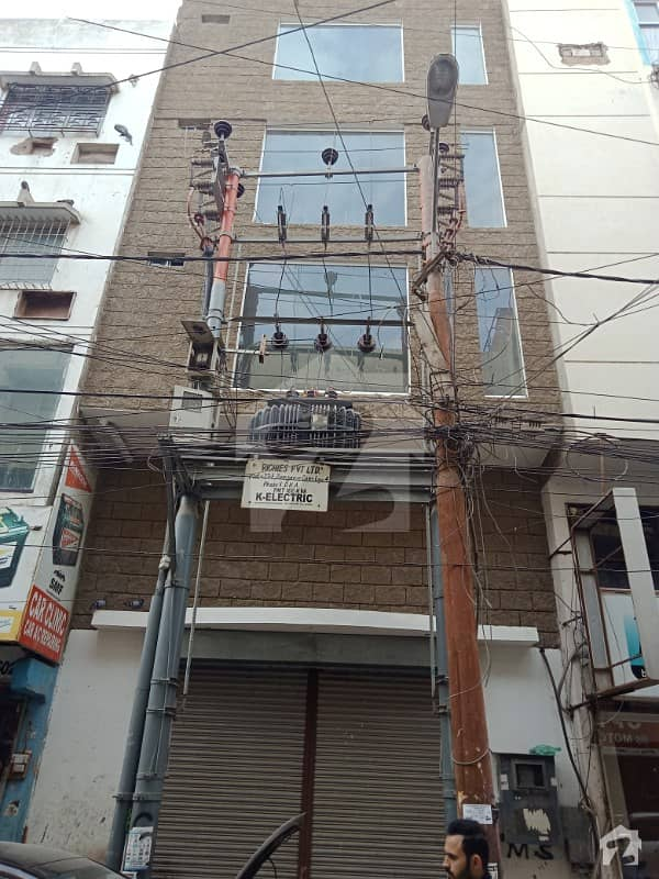 100 Sq Yards Ground Plus Four Office Building For Sale