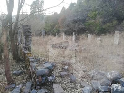 Two Kanal Plot In A House Constructed On Main Angoori Road  New Murree