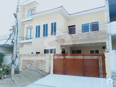 7 Marla Brand New Solid Designer House At Hot Location Facing Park
