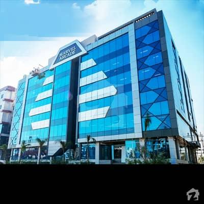 گلبرگ سوک سینٹر گلبرگ اسلام آباد میں 4 مرلہ دفتر 4.5 کروڑ میں برائے فروخت۔