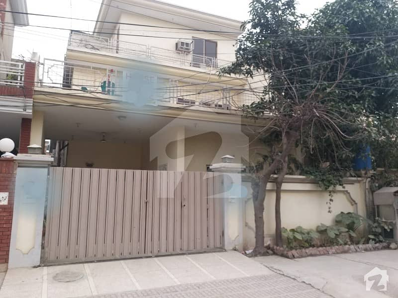 12 Marla Residential House Is Available For Sale At Johar Town Phase 1 Block F2 At Prime Location
