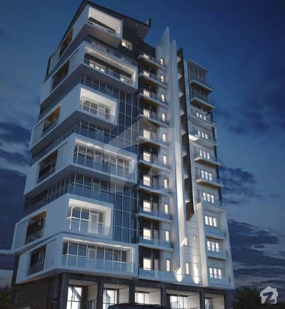 A Luxurious Brand New Apartment Is Available For Sale On A Prime Location Of Liberty Commercial Bahria Town Karachi