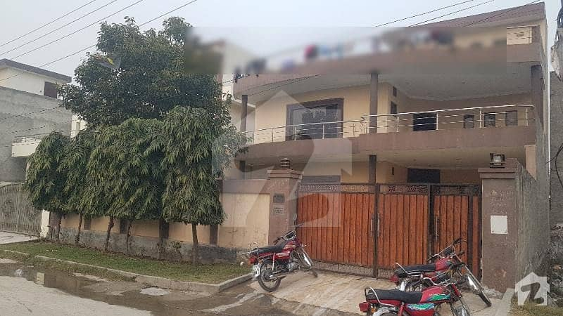 1 kanal house for sale in khuda bux colony airport road