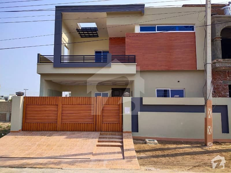 10 Marla Brand New Double Storey House For Sale At Best Location