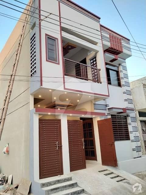 گلشن عثمان ہاؤسنگ سوسائٹی کراچی میں 4 کمروں کا 5 مرلہ مکان 1.3 کروڑ میں برائے فروخت۔