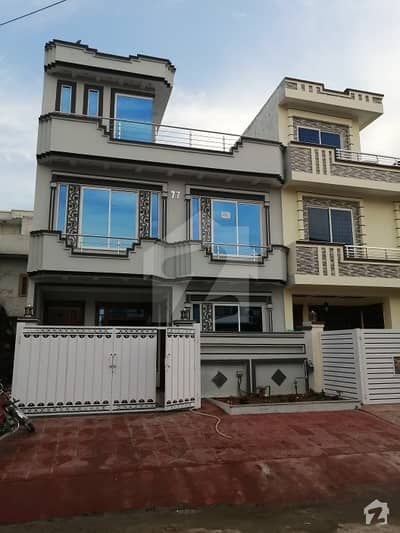G 13 Brand New 25 40 Size 4 Marla House For Sale On Main 70 Feet Road Very Latest Design