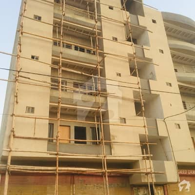 120 Sq Yd Apartment For Sale Very Good Price,ahsanabad Near Jamiatur Rashid Madarsa New Project Gas,electricity,water Available