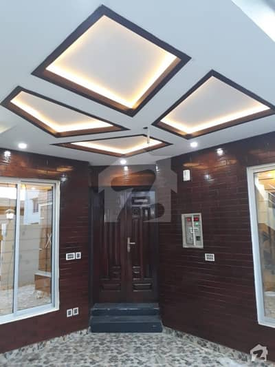 Triple Storey 5 Marla Brand New House For Sale In Canal Garden Lahore On Ideal Location