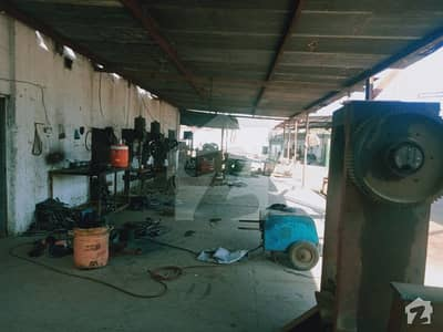 Factory For Sale In Korangi Industrial Area With Gas  Electric Connection Sector 50 C