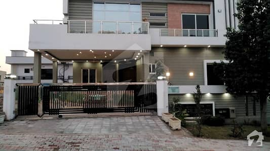 A Lower Ground Portion Available For Rent At A One Kanal House At Bahria Enclave Islamabad