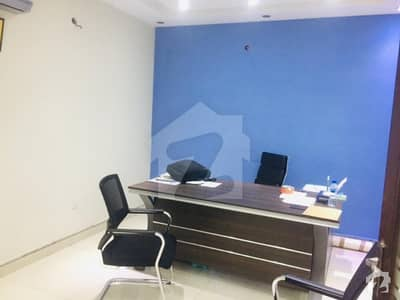 4 Marla 1st Floor Commercial Office With Cabin Very Reasonable Rent