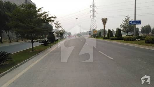 Corner And 3 Side Open Commercial Plot For Sale In Sector F
