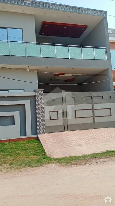 7 Marla brand new double story house for sale in gated street