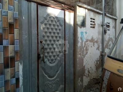 زمان آباد ہاؤسنگ سوسائٹی لانڈھی کراچی میں 3 مرلہ مکان 55 لاکھ میں برائے فروخت۔
