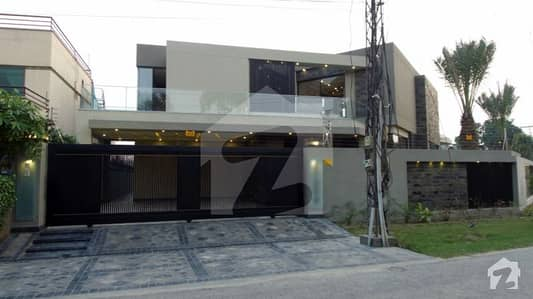 23.5 Marla Brand New Stylish House For Sale In FF Block Of Dha Phase 4 Lahore