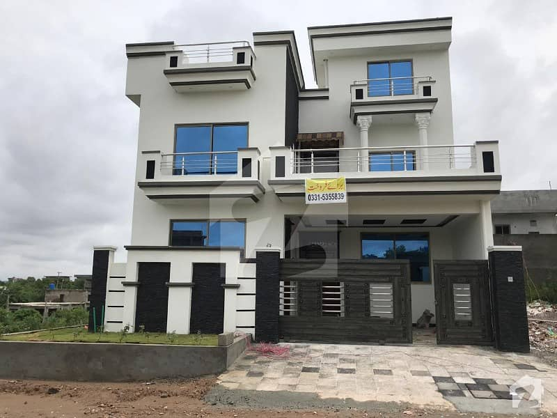 7 Marla New Corner House For Sale In Cbr Town Phase 1 Block B Islamabad