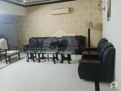 F-11 Abu Dhabi Tower  Fully Furnished Neat And Clean New Pant Polish Flat For Rent