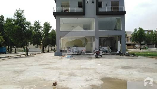 Commercial Shop Front Side Facing Eiffel TOwer For Sale in SQ 14 Eiffel Bahria Town Lahore