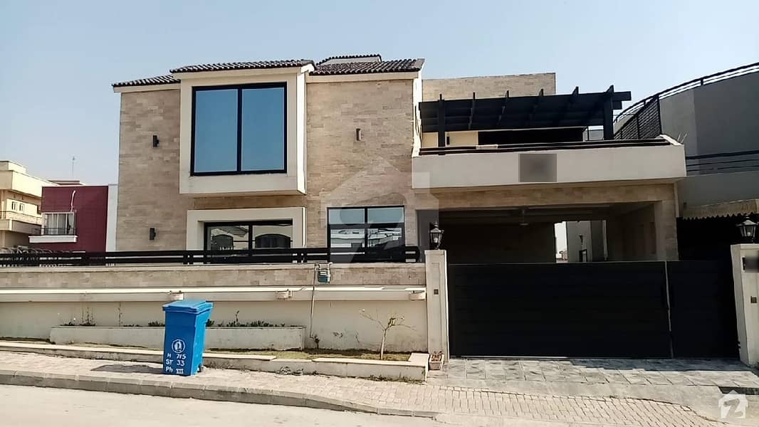24 Marla Furnished Triple Story Park Face House With Full Basement Is Available For Sale