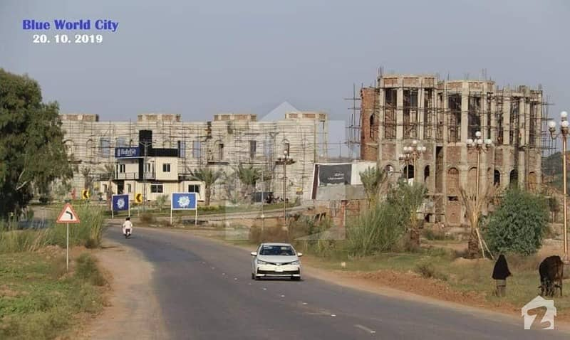 10 Marla Residential Plot Available For Sale On Overseas Block