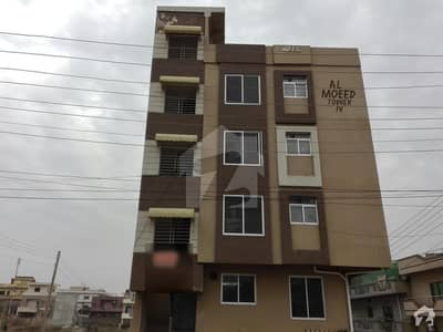 Ground Floor Corner Flat Is Available For Sale