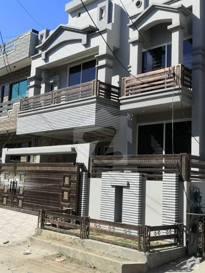 Brand New Corner Triple Storey House With Extra Land