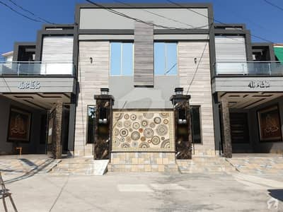 10 Marla Brand New Pair House Facing Park Very Hot Location 5 Bed Plus Servant Quarter