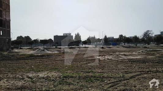 8 Marla Commercial Plot For Sale In Quaid Block Of Bahria Town Lahore