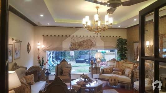F113 - 666 Yards Ambassador Level Fully Furnished House 6 Bedrooms 15 Crores