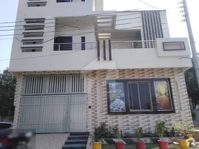 ایڈن گارڈن - نواب بلاک ایڈن گارڈنز فیصل آباد میں 5 مرلہ مکان 1.3 کروڑ میں برائے فروخت۔