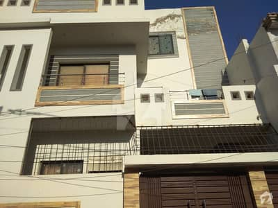 150 Sq Yard Double Storey Bungalow Is Available For Sale At Happy Homes Qasimabad Hyderabad