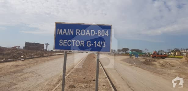 Ideally Located Plot In Sector G-14/3 Islamabad