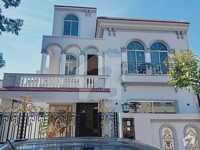 10 Marla Spanish Brand New House For Sale In Sector C Block Bahria Town Lahore