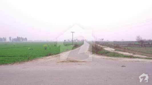 بیدیاں روڈ لاہور میں 8 کنال زرعی زمین 2.4 کروڑ میں برائے فروخت۔