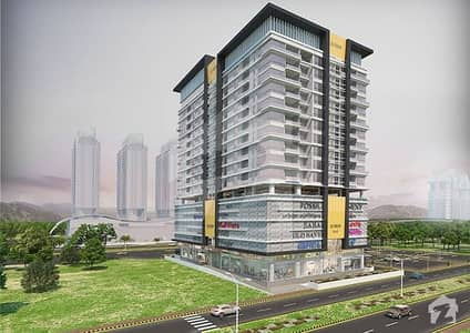Elysium Mall & Residencia Brand New 2 Bed Corner Apartment For Sale Centaurus & F-9 Park Facing.