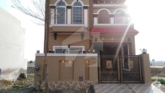5 Marla Brand New House Spanish Design For Sale Sector M7b In Lake City