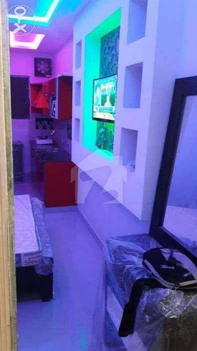 Studio Bds  1 Ba  450 Square Feet Furnish Flat Moon Market Iqbal Town