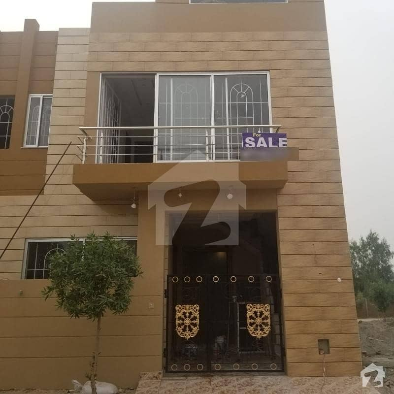 3 Marla Brand New House 3 Bed 2 Kitchen Near To Park Hot