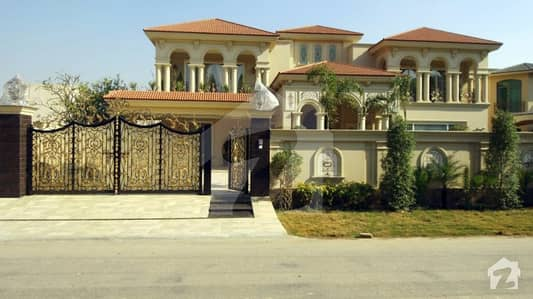 2 Kanal Faisal Rasul Design Brand New Fully Furnished Bungalow For Sale