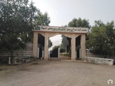 ہاشم آباد کوآپریٹو ہاؤسنگ سوسائٹی سکیم 33 کراچی میں 10 مرلہ رہائشی پلاٹ 60 لاکھ میں برائے فروخت۔