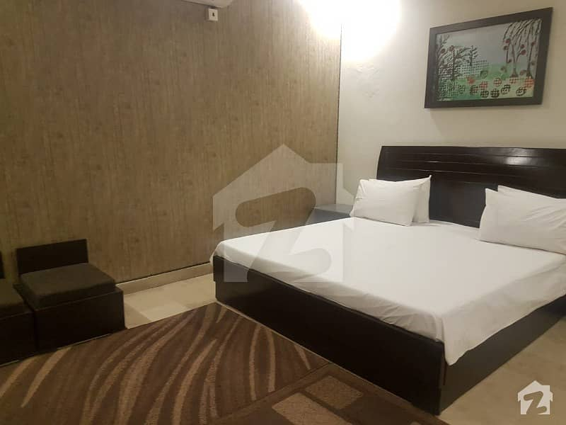 Near Jalal Sons Fully Furnished Apartment For Rent At Prime Location
