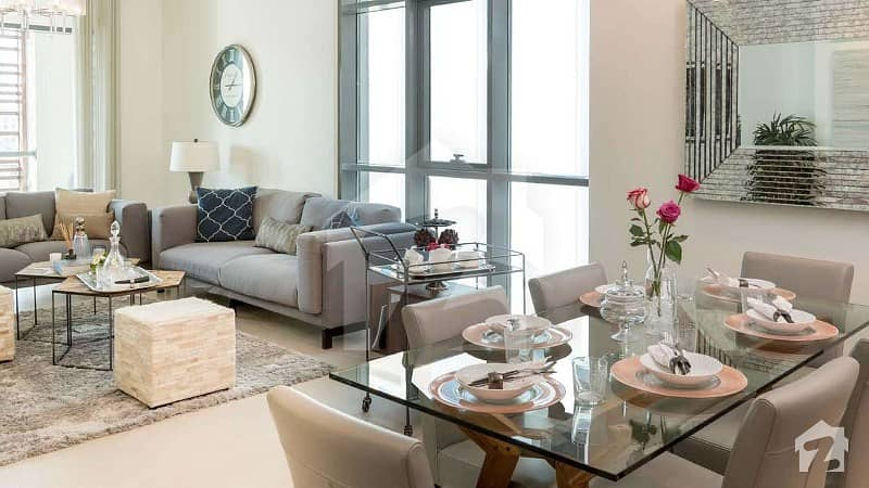 Studio Apartment Available For Sale On Installments In Sq Theme Park Tower