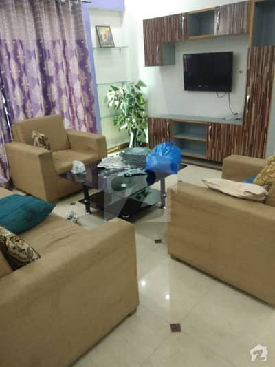 3 Bad Flat Fully Furnished For Rant In Sector C Gulmohar Block