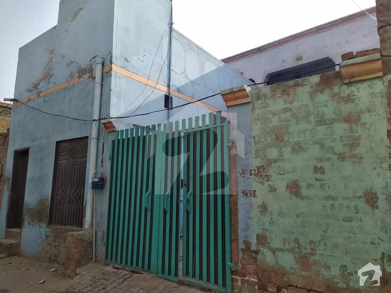جھنگ روڈ مظفر گڑہ میں 5 کمروں کا 5 مرلہ مکان 42 لاکھ میں برائے فروخت۔