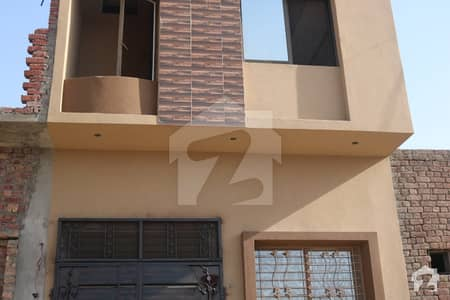 3 Marla Brand New House For Sale In Nawab Homes Shahdara