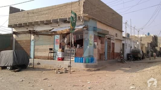 Corner House For Sale With 03 Commercial Shops